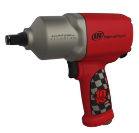 Ingersoll Rand unveils the limited edition 2135Ti10YR 1/2″ Impactool to commemorate the 10th anniversary of its best-selling product.
